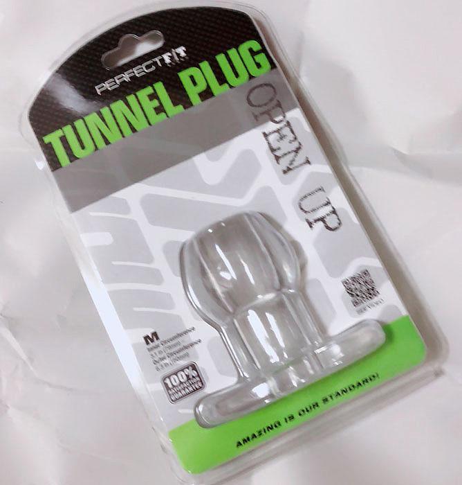 女装男子たい焼きのアナルグッズレビュー<br>Tunnel Plug(トンネルプラグ)・Mサイズ